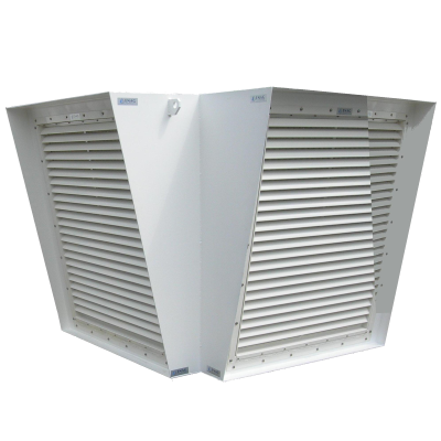 Marine mask louvers aluminum or stainless steel